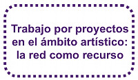 Trabajo por proyectos en el ámbito artístico: la red como recurso