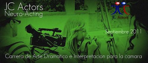 Arte Dramatico e interpretacion para la camara en JC Actors by jc actors interpretacion para camara,teatro y tv