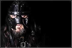 For Fenris! (nwg2008) Tags: leather play dragon mask dwarf battle type warrior re fella role fenris enactment draganizer flickrdragan