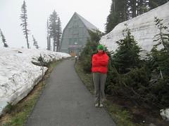 ready to get my climbing Mount Rainier permit.. (iwona_kellie) Tags: usa mountain washington weekend mountrainier mountaineering elevation highaltitude cascaderange stratovolcano july2011 14411feet 4392meters