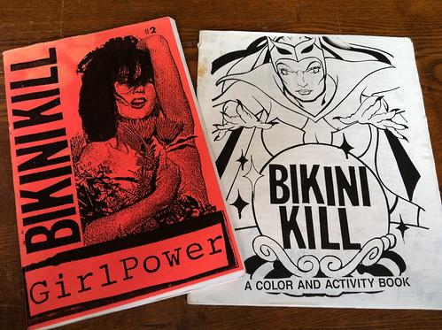 Bikini Kill zines