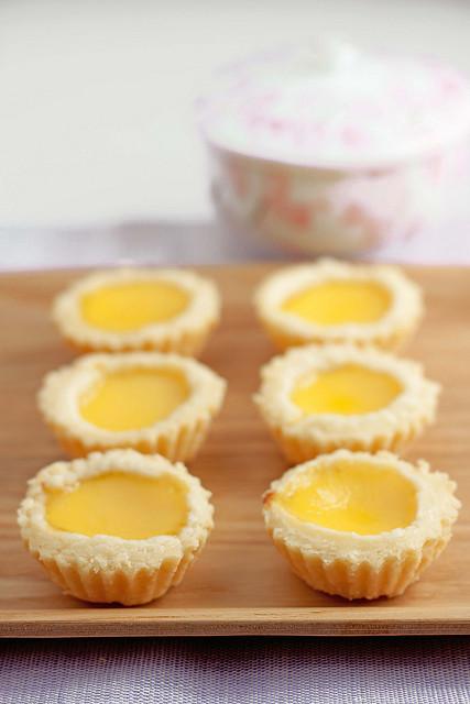4 Kokken69 Flaky Egg Tarts
