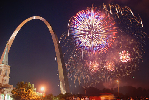 Fireworks at Fair St. Louis