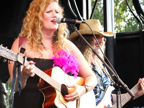 Lindsay Ferguson at Bluesfest 2011