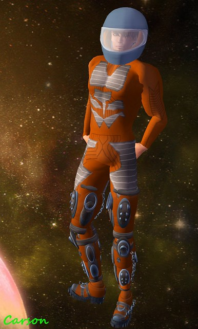 The Pumpkin Head - Space Suit
