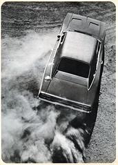 1968 Charger (KurtClark) Tags: blackandwhite magazine climb hill vinyl dodge 1968 dust charger hillclimb drifting motorcade october1967