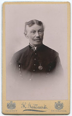 Polish or German Military Man CDV (Neato Coolville) Tags: 1800s poland cdv cieszyn teschen heinrichjandaurek