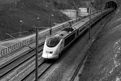 Catch me if You Can (Ryan Roser) Tags: paris london speed eurostar tunnel locomotive passenger mph