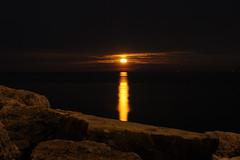 Moon rising.