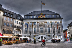 Bonn Germany - Altes Rathaus and Marktplatz (mbell1975) Tags: plaza old city storm germany square deutschland town hall bonn day market cityhall alt platz eu german government townhall rathaus hdr marktplatz deutsch altes