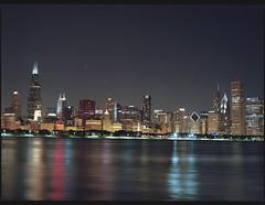 (bavan.prashant) Tags: street chicago mamiya milleniumpark 12th f8 80mm 8seconds m645 kodakpotra160 rated40013
