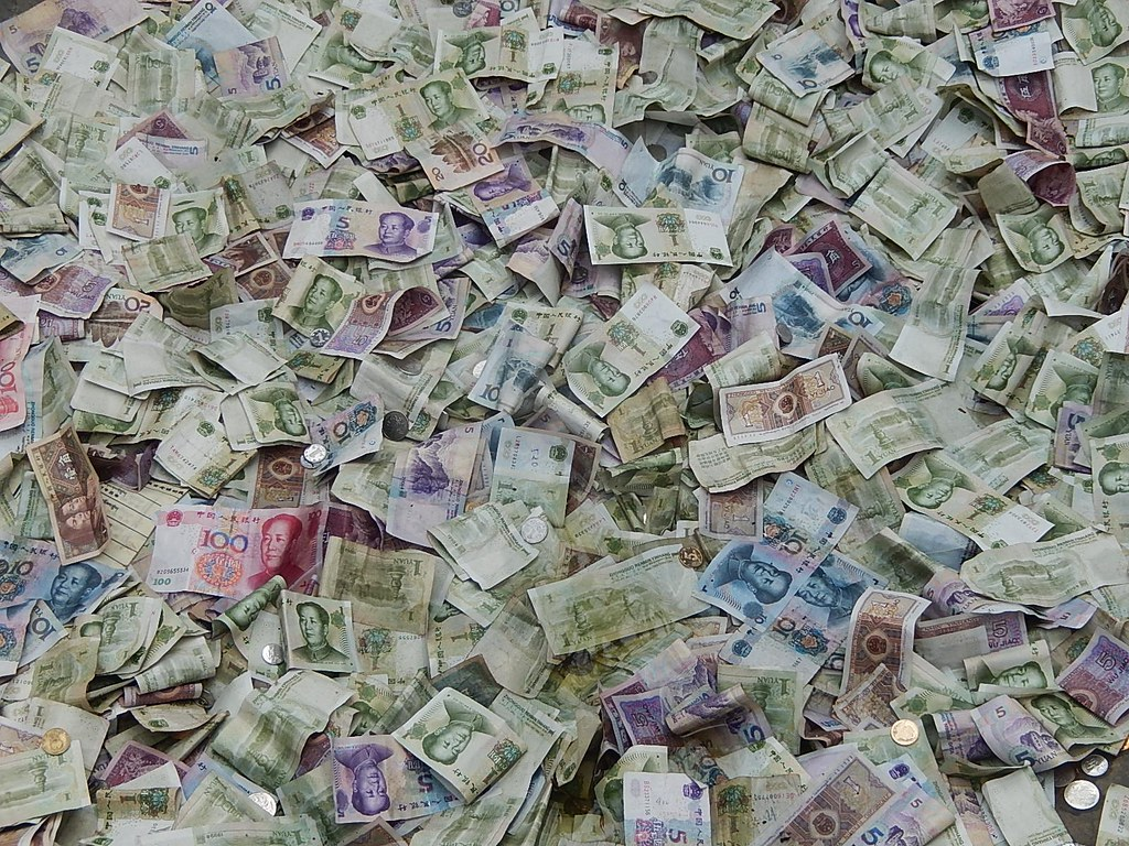 A Lot of Chinese Money by mikecogh, on Flickr