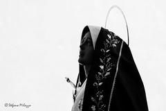 Passion 33 (OldStyleSte) Tags: portrait bw canon flickr madonna chiesa sicily fotografia statua ritratto sicilia biancoenero primopiano rievocazionestorica sacro pasqua passione thepassion marsala processione settimanasanta blackwite religione crocifissione bianoenero sacroeprofano giovedsanto blakwite passionedicristo