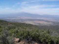 View north to San Jacinto