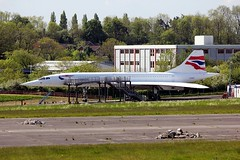 Concorde G-BOAF Filton 15.05.14 (jonf45 - 2.5 million views-Thank you) Tags: aircraft civil concorde british airways airliner filton gboaf