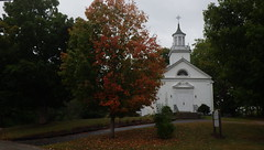 Summer Drought, Early Fall - IMGP6371 (catchesthelight) Tags: nh fall autumncolors fallfoliage wilmot church newengland