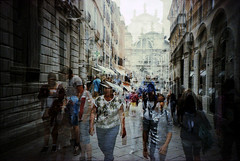 Venica (Etienne Despois) Tags: lca xpro doubleexposure doubleexpo venice italy travel travelplanet