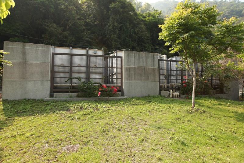 泰安溫泉警光山莊下的公用井及儲水槽現狀