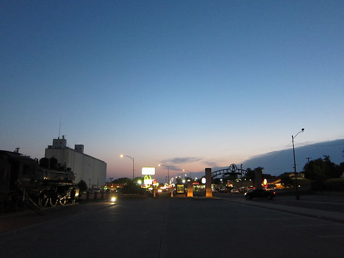 Dodge City lights