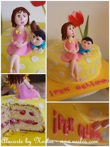 Pınar'ın pastası