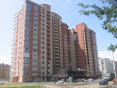 Public Block Alleya Roz TO (Phеnom) Tags: city windows urban building brick glass architecture apartment russia south don residential outskirts rostov rostovondon publichousing rostovnadonu toppedout alleyaroz publicblock