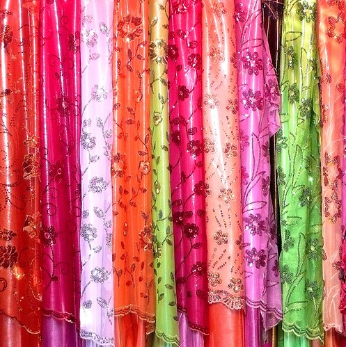 Fabrics - Urgut, Uzbekistan