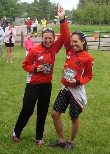 Apostle Island Inline Marathon Pro Women Podium