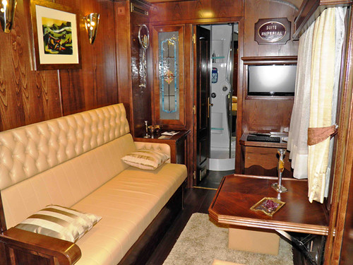 El Transcantabrico Gran Lujo (Great Luxury) -  private lounge
