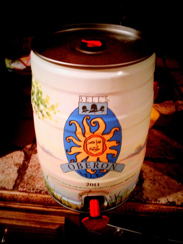 Oberon mini-keg
