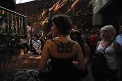 butterfly tattoo (klondike kid) Tags: georgia saturday athens rockroll athfest