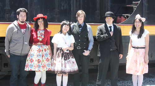 group shot by train2