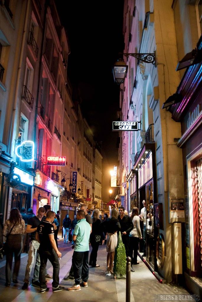 Paris at night - Paris Bars