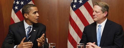 Альбер Гор и Барак Обама. Борьба с изменением климата