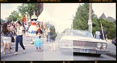 (Mikey Valdes) Tags: street color film vancouver drive pentax takumar bokeh commercial medium format 6x7 portra 105mm f24 c41 400vc