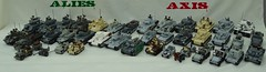 /gloats (BeLgIuM ww2 bUiLdeR) Tags: lego wwii vehicles ww2 custom picnik tanks brickarms brickmania