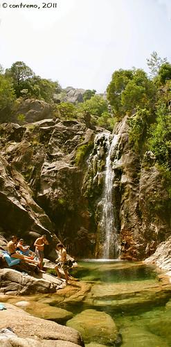 Cascatas do río Arado (Ermida, Terras de Bouro - Portugal)