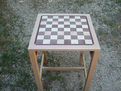 Chess table (dragonoak) Tags: chess chessboard chesstable
