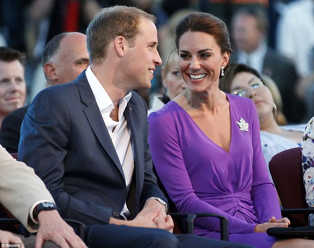 Purple princess Kate pulls off another fashion triumph as half a million turn out in Canada 1
