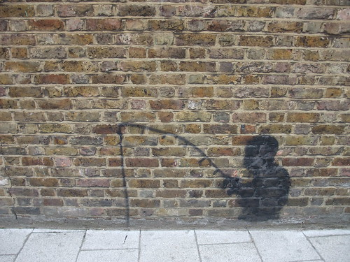 fisher/fish monger graffiti