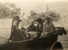 July 4, 1922 (National Library of Ireland on The Commons) Tags: 1920s women automobile july 1922 redcross ststephensgreen twenties maudgonne nationallibraryofireland irishcivilwar wdhogan maudgonnemcbride hogancollection