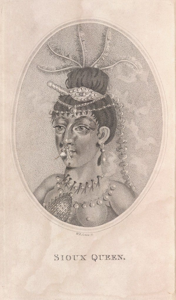 Sioux Queen - The Travels of Capts. Lewis & Clarke by WR Jones, 1809