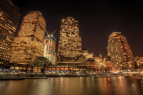 the world financial center is a complex of buildings across west street from