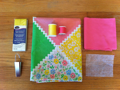 Block Pocket Apron-a-long - Week 1!