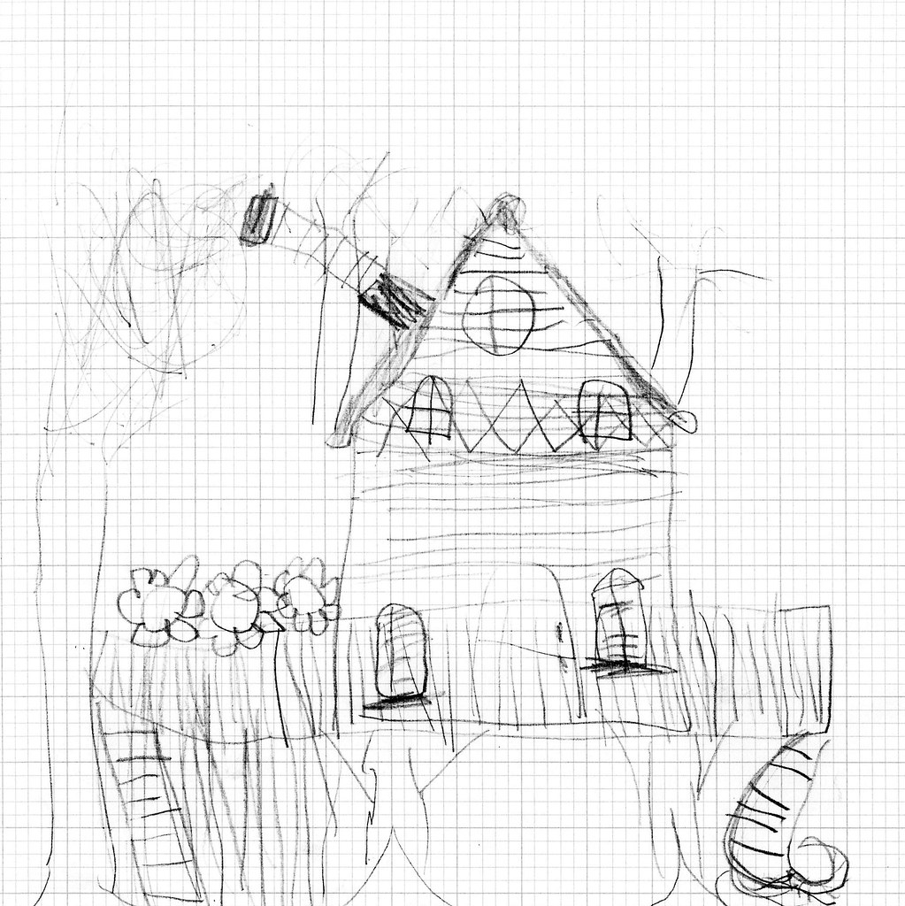 luca's tree fort sketch