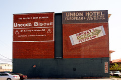 Union Hotel Signs (BOB WESTON) Tags: uneedabiscuit wrigleys meridianmississippi