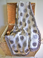 Grey Granny Goodness (Creative Designs by Sheila) Tags: grey crochet blanket granny