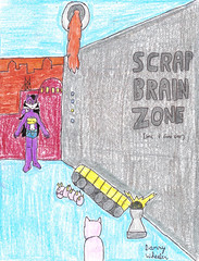 Melody in Scrap Brain Zone (GG) (PaladinDBoy) Tags: melody gamegear sonicthehedgehog