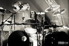 Gojira (Mathieu EZAN) Tags: show blackandwhite bw france metal death lights concert tour noiretblanc live gig band mario nb drummer vannes gojira zildjian duplantier lenfantsauvage canon5dmarkiii echonova mathieuezan