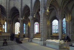 Ambulatory (right side), Basilica of St. Denis