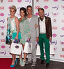 Guests 'Fake Bake' celebrity ball at the Radisson hotel - Arrivals Glasgow, Scotland